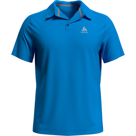 Odlo F-Dry Polo Manches courtes Homme, blue aster
